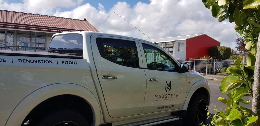 max style company car at school premises