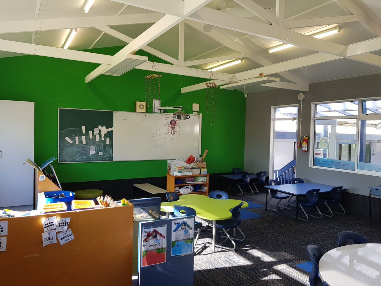 AUTEX wall lining Vertiface - St Anne's Primary School