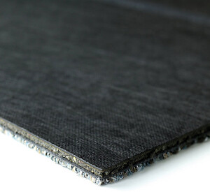 carpet tile interface with acoustic backing ReCushion